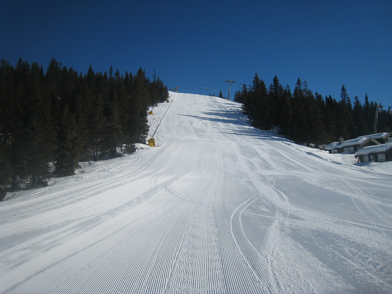 Nice slopes, Kvitfjell Alpine Centre