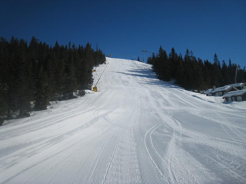 Kvitfjell Alpine Centre snow