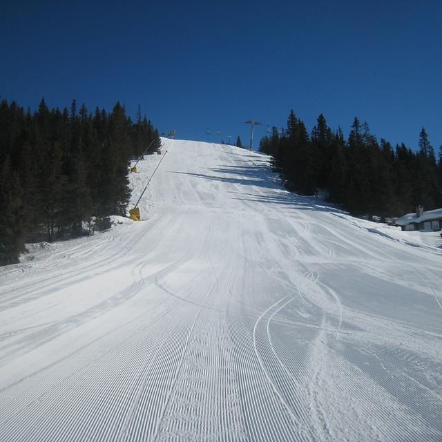 Nice slopes, Kvitfjell Alpine Centre