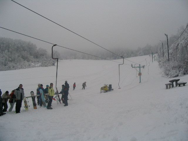 Hungary -East Europe, Skiresort Salg, Dobogókő Sícentrum