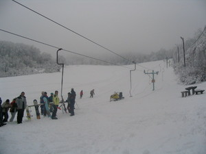 Hungary -East Europe, Skiresort Salg, Dobogókő Sícentrum photo