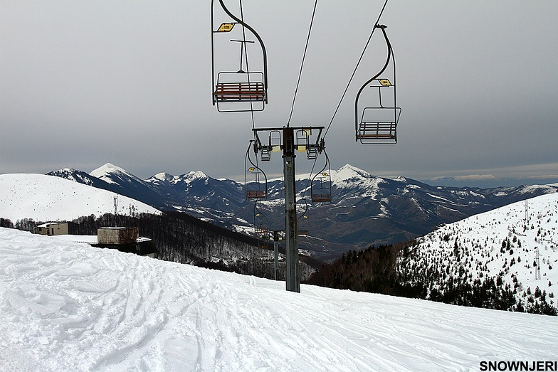 Old lift from 1985, Brezovica