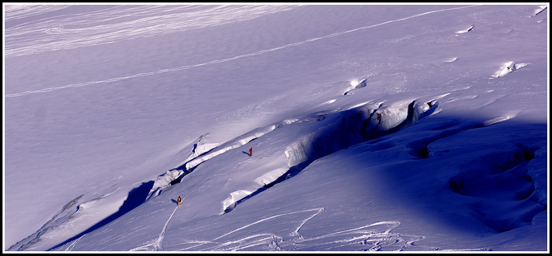 glacier de la girose, La Grave-La Meije