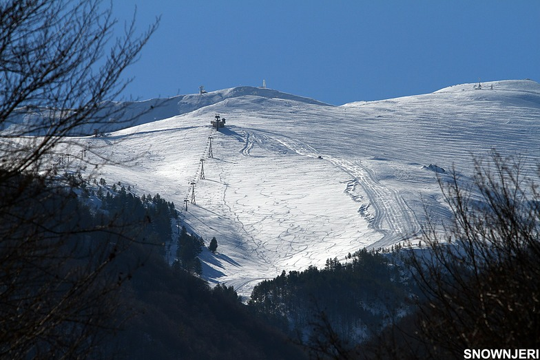 Zoomed from the bottom, Brezovica