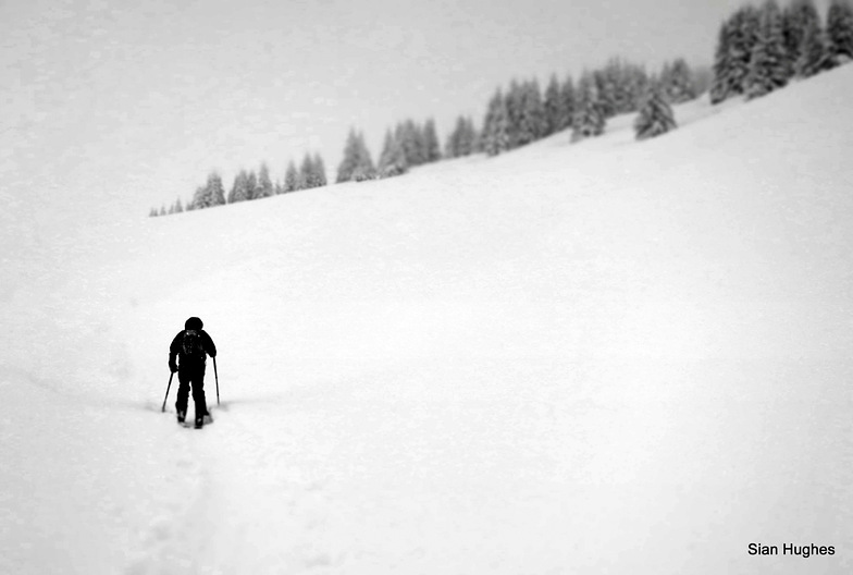 Ski Touring Col Basse, Morzine