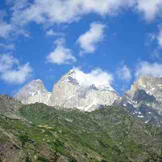 Georgia, Mount Ushba, Mestia