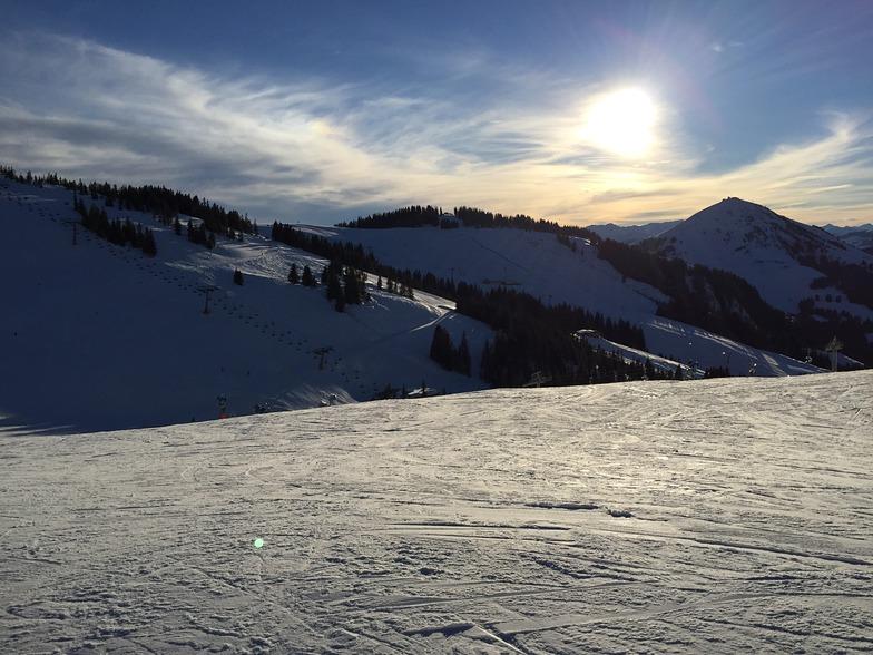Late afternoon sun, Scheffau