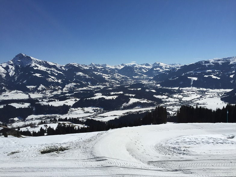 Looking towards Kitzbuhel from Going