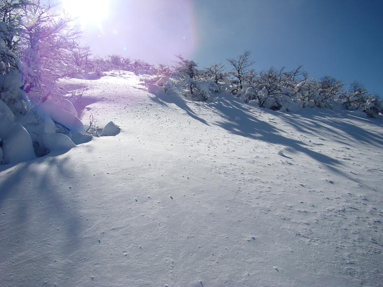 Monte Bianco snow