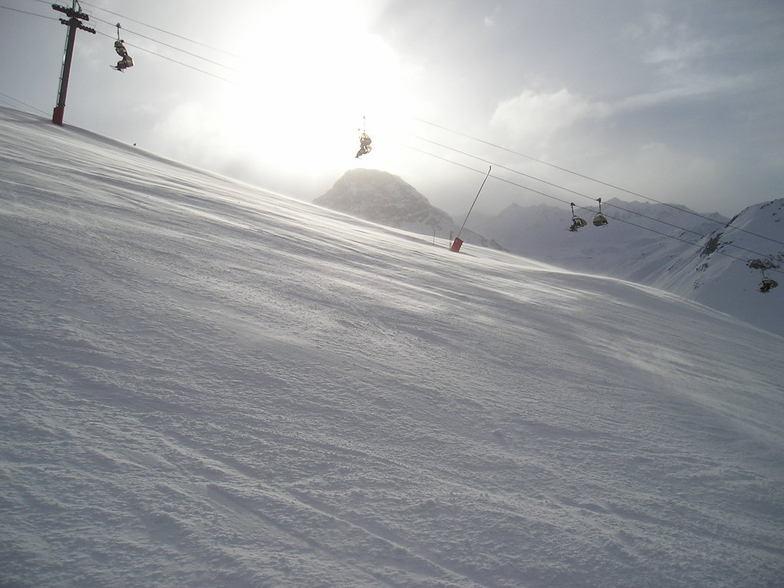 Hazy sunshine, Val d'Isere