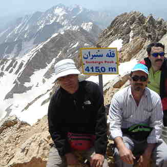 mount semberan, Mount Damavand