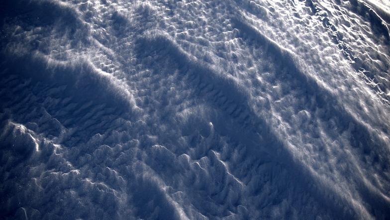 Snow metamorphosis, La Parva