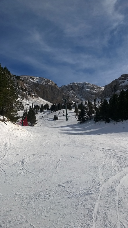 Charming skiing, Masella