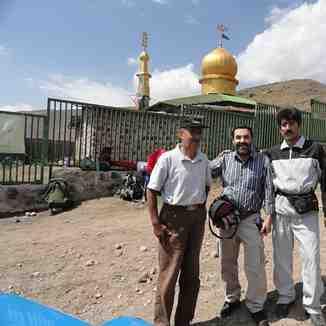 مسجد صاحب الزمان در دامنه کوه دماوند, Mount Damavand