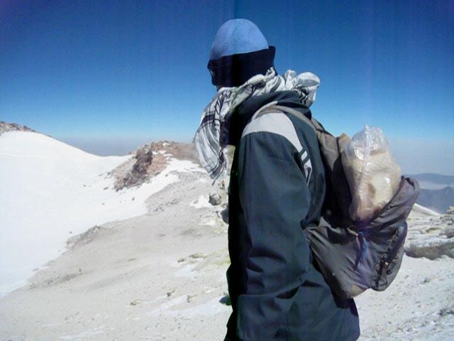 قله دماوند با کمترین تجهیزات, Mount Damavand