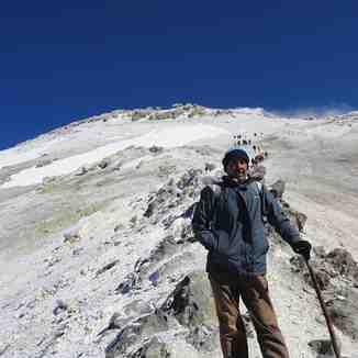 ترافیک صعود در جبهه جنوبی دماوند, Mount Damavand