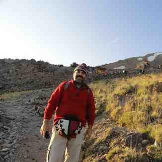 بارگاه سوم دماوند در جبهه جنوبی, Mount Damavand