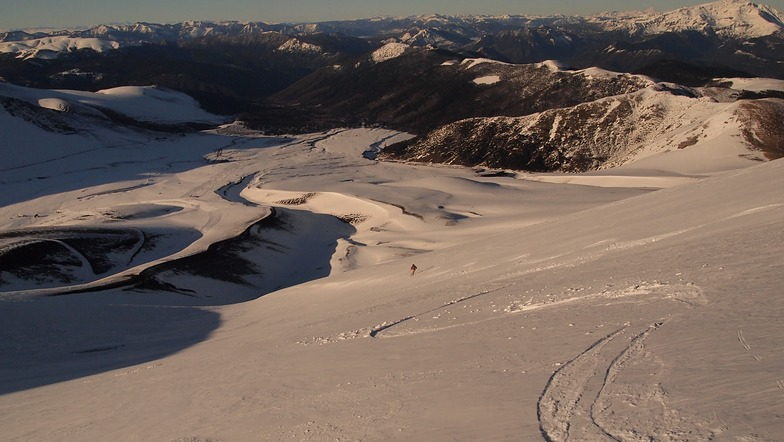 South bowl, Corralco (Lonquimay)