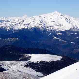 Sierra Nevada from Lonquimay, Corralco Mountain & Ski Resort