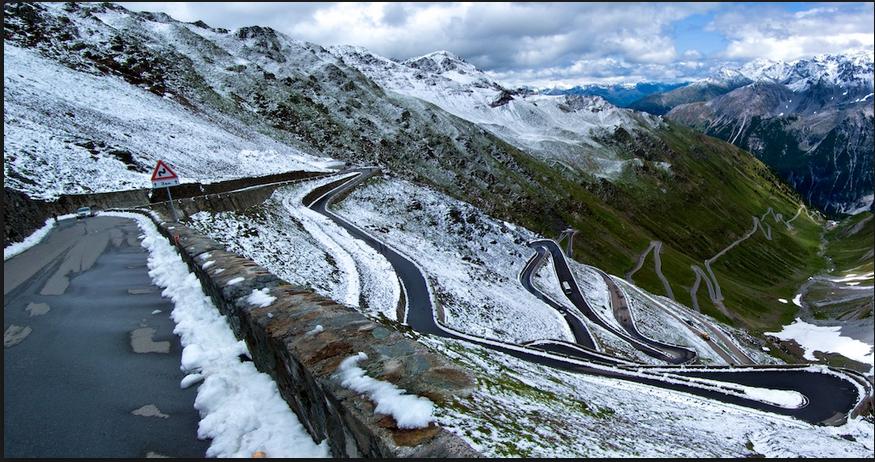 Road to Passo dello Stelvio, Passo Dello Stelvio Stilfserjoch