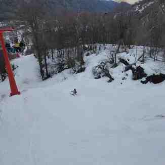 Fuera de pista Bosque Nevado, Nevados de Chillan
