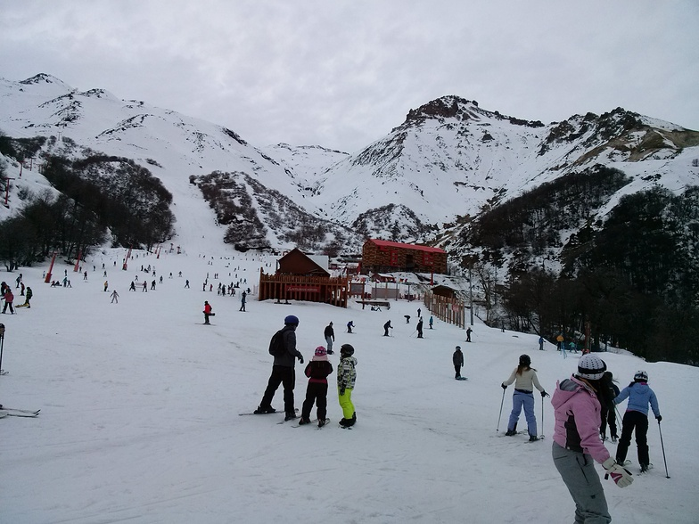 Pista Novicios, Nevados de Chillan