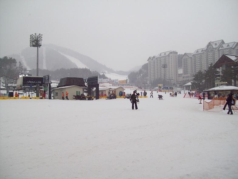Yongpyong Base Area, PyeongChang-Yongpyong