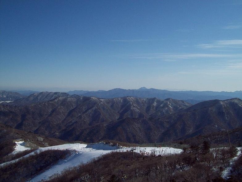 Muju Deogyusan Resort snow