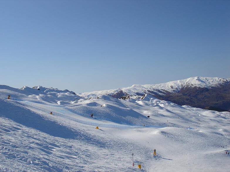 Coronet Peak snow