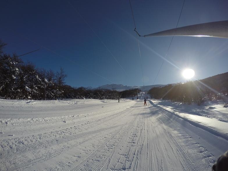 Ski en el fin del Mundo, Cerro Castor