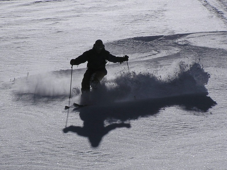 Las Aguilas fluff, Lagunillas Ski Center