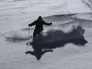 Las Aguilas fluff, Lagunillas Ski Center photo