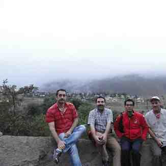 vilage haji dela damavand, Mount Damavand