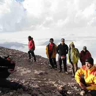 هم هوائی در جبهه جنوب شرقی دماوند, Mount Damavand