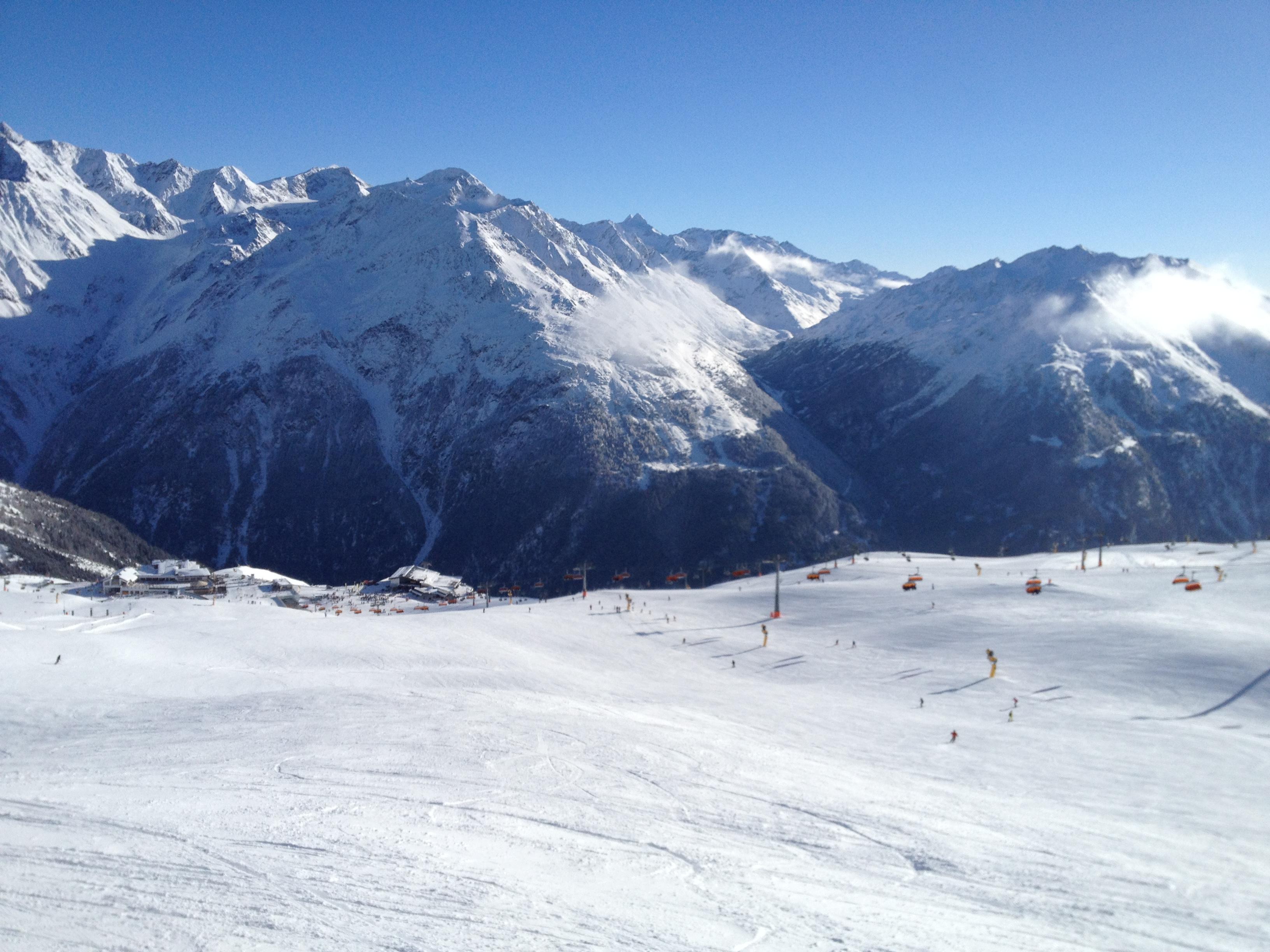Good weather for ski, Sölden