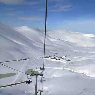 Falakro Ski Resort Snow: Falakro after a big night snowfall