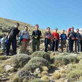درکنار همنوردان عزیز جبهه شمال شرقی دماوند, Mount Damavand
