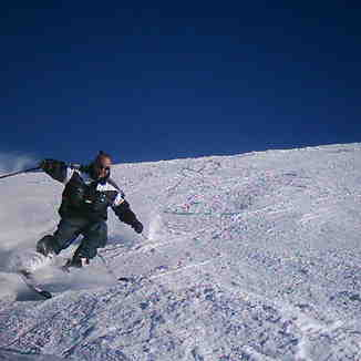 joe skiing the powder (faraya), Mzaar Ski Resort
