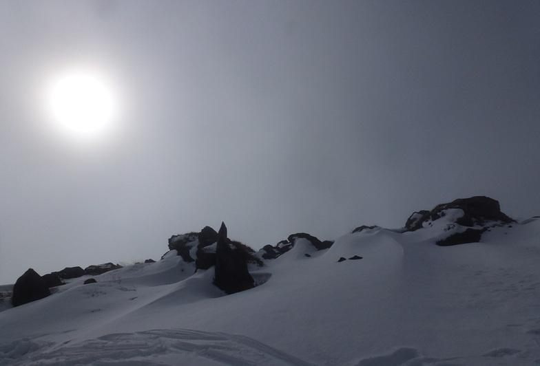 Paisaje, Nevados de Chillan