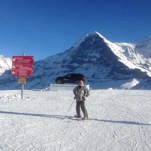 Grindelwald Ski Resort by: bob cordingley