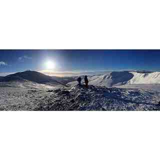 A rare sunny day in Scotland, Glenshee
