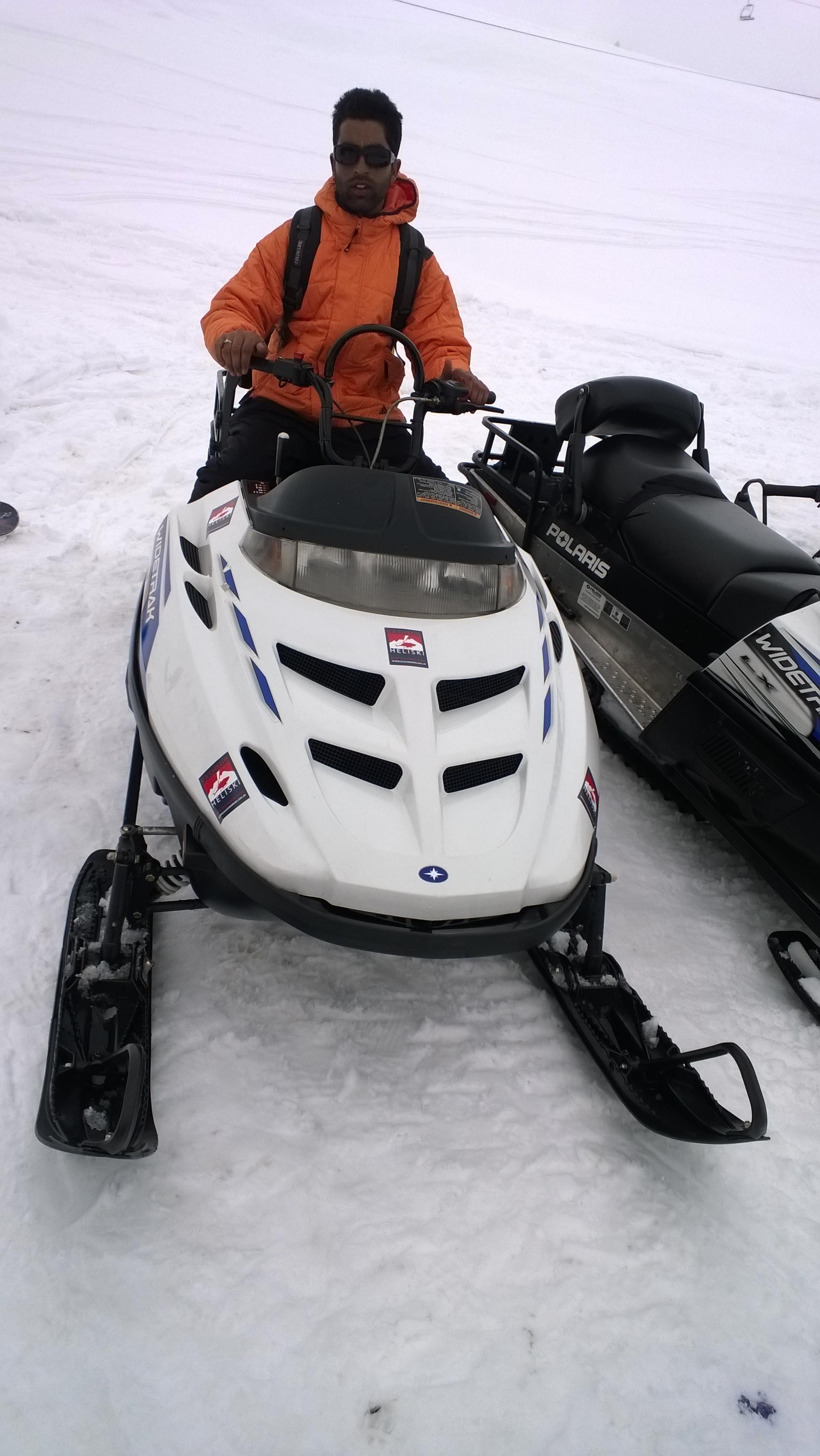 Snowbike, Gulmarg