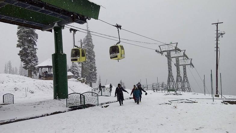 Fresh Snowfall, Gulmarg