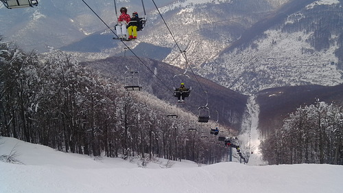 Vigla Pisoderi Ski Resort by: PAPANIKOLAOU KOSTAS