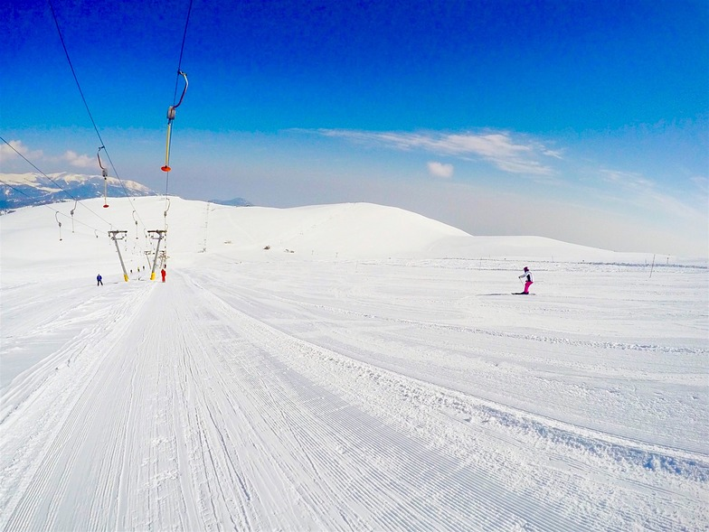 Artemis ski slope, Seli