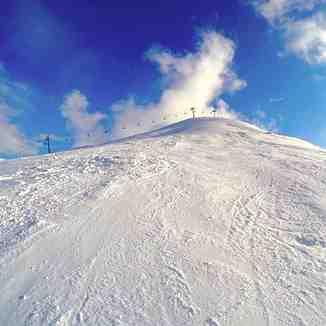 Dysiron ski slope, Falakro Ski Resort