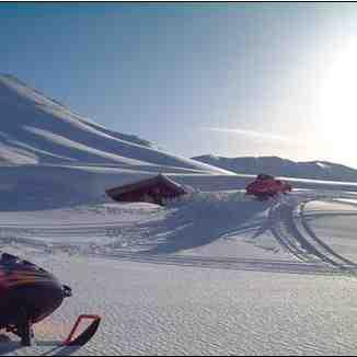 Snowmobiling in th cedars, Lebanon, Mzaar Ski Resort