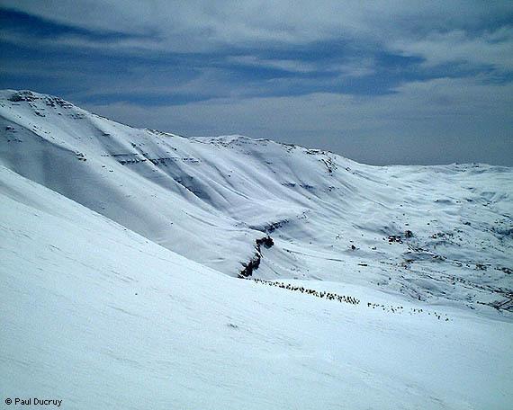 Kanat bakish, Lebanon, Mzaar Ski Resort