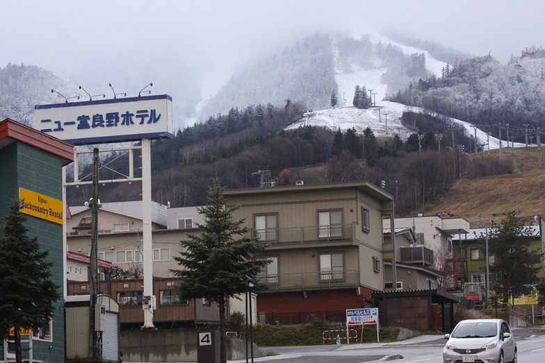 A wet base is a good base in Central Hokkaido, Furano