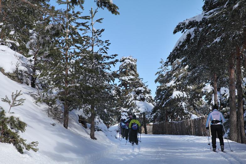 Centro de esquí Nórdico de Navafria, Puerto de Navafria